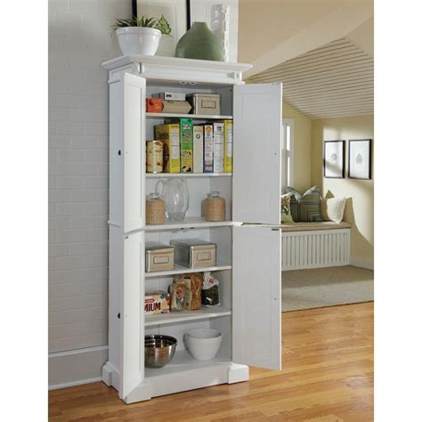 home styles americana white pantry pantry cabinets