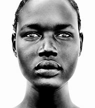 African Black and White Portrait Photography