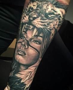 Loup Tatouage Signification : tatouage indien tete de loup ~ Dallasstarsshop.com Idées de Décoration