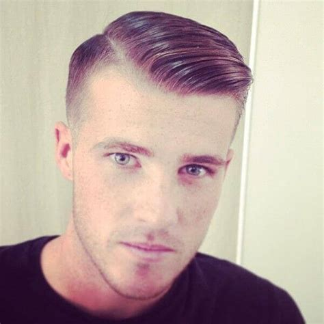 Short Side Part Hairstyles Men   Short Hairstyle 2013