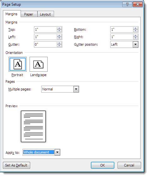 setting  letter templates