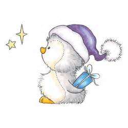 Cute Christmas Penguin Drawings