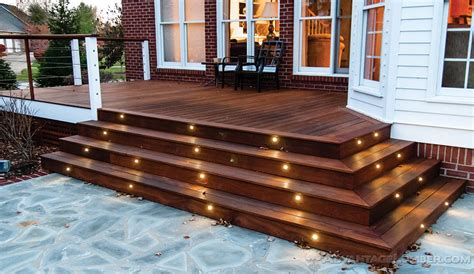 deck lighting advantage deck lighting led post caps rail lights