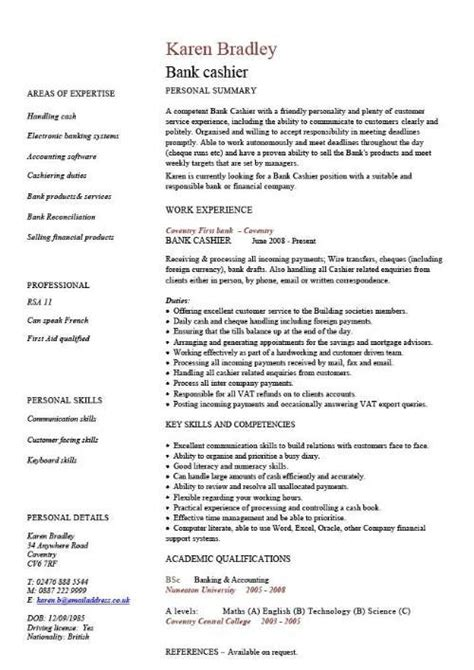 Free Professional Cv Writing by Some Exle Cvs Cv And Application Forms Resume