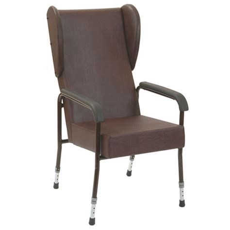 adjustable high back chair with wings high backed chairs