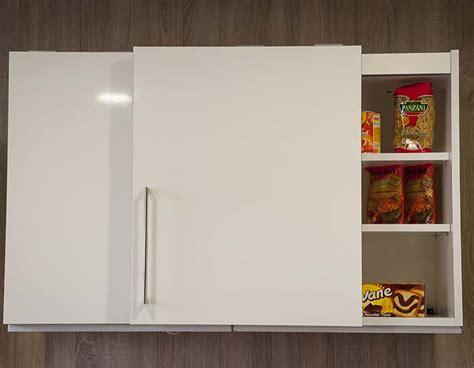 porte coulissante pour meuble de cuisine meuble de cuisine haut avec porte coulissante 8 idées de