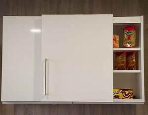 meuble de cuisine haut avec porte coulissante 8 idees de With meuble cuisine avec porte coulissante