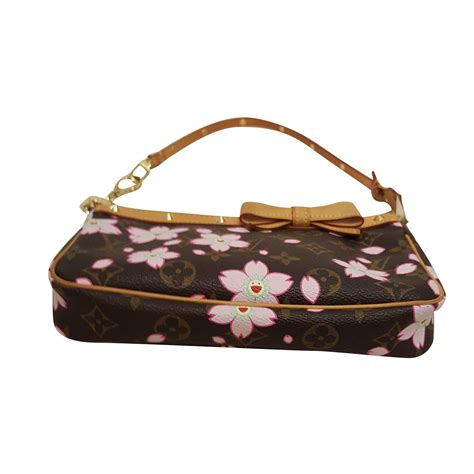 louis vuitton takashi murakami small bag  chic selection