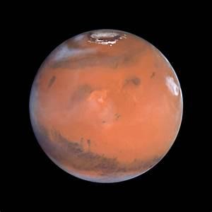 Mars at Opposition (the Elysium Region) | ESA/Hubble
