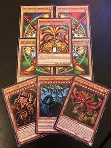 YUGIOH TCG: EXODIA + EGYPTIAN GOD CARDS: OBELISK SLIFER RA ...