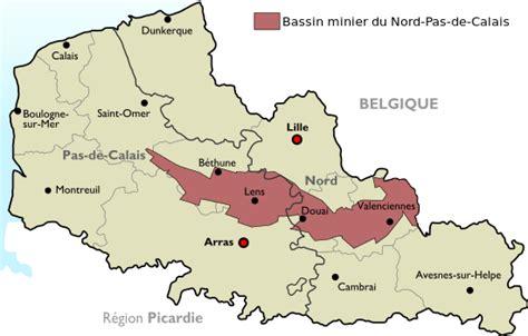 emploi secretaire pas de calais bassin minier du nord pas de calais wikip 233 dia