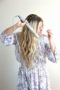 Wavy Hair Tutorial With Flat Iron Wavy Hair Tutorials