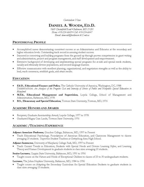 Academic Advising Resume by 10 Best Images About Resume Exles On Executive Resume Accounting Manager And