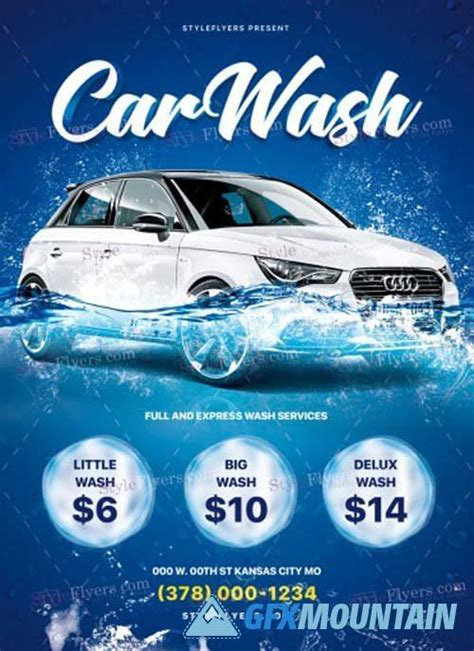 Car wash and detailing flyer by psdpixel on @creativemarket #car #cars #carwash #cleaning #carwashing #carwasher #carwashflyer #advertisement #flyertemplate #flyerdesign #psdpixel. Car Wash V17 2018 PSD Flyer Template » Free Download ...