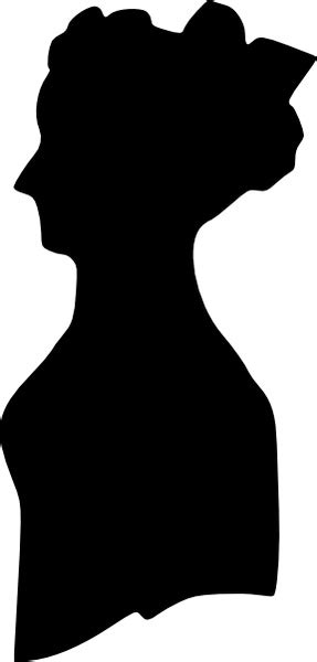 Woman Silhouette clip art Free vector in Open office ...