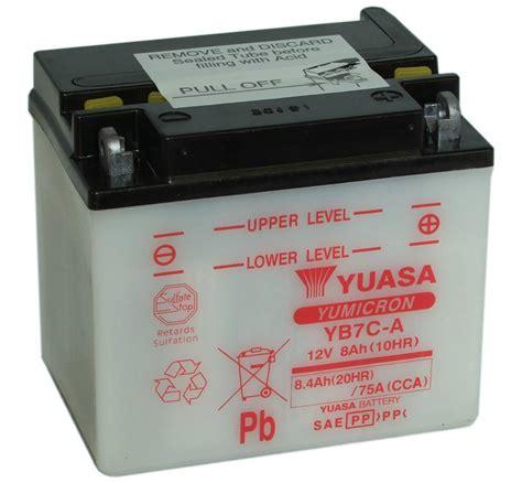 batterie yuasa moto yb7c a