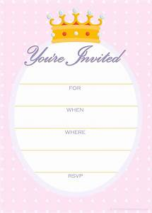 free printable golden unicorn birthday invitation template With inviation templates