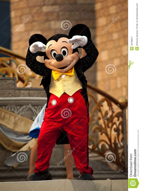 mickey mouse editorial photography image