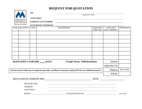 insurance quote request form template 44billionlater