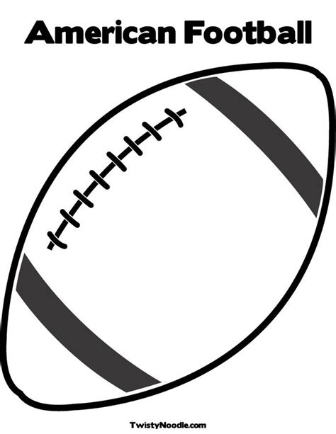 football template   clip art  clip