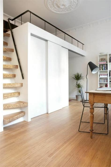 escalier escamotable pour mezzanine choisir un escalier pour mezzanine pour loft archzine fr