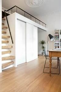 Escalier Moderne Pas Cher : choisir un escalier pour mezzanine pour son loft ~ Premium-room.com Idées de Décoration