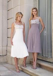 Robe Mi Longue Mariage : robe de soir e mi longue pour mariage ~ Melissatoandfro.com Idées de Décoration