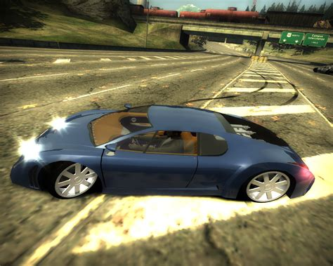 Need For Speed Most Wanted Cars By Bugatti