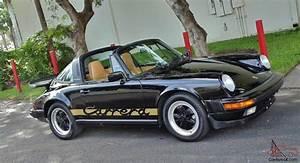 Porsche 911 3 2 : porsche 911 carrera 3 2 targa cabriolet coupe 930 rare ~ Medecine-chirurgie-esthetiques.com Avis de Voitures