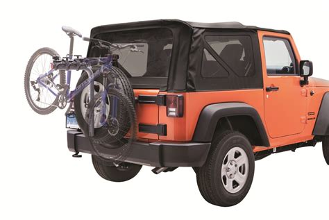 jeep wrangler bike rack sportrack spare tire bike racks for jeep wrangler