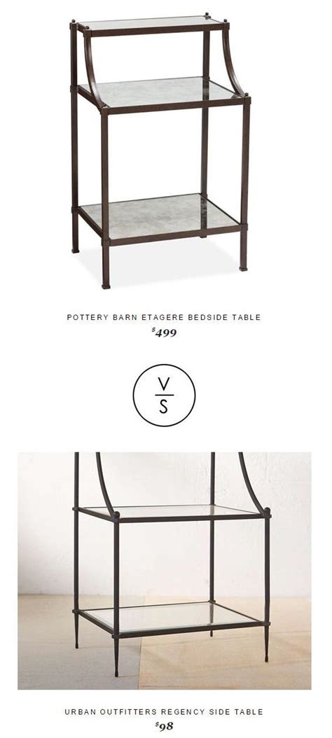 Etagere Table by Potterybarn Etagere Bedside Table 499 Vs