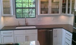 kitchen backsplash designs pictures kitchen backsplash white wave panel tile contemporary 5029