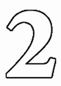 Number Two Clipart Black And White | Clipart Panda - Free ...