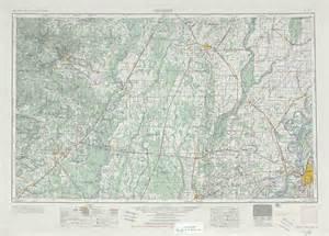 Topographic Map Memphis