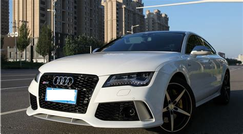 Audi A7 Modification by Newest Arrival For Audi A7 To Rs7 Kits For A7