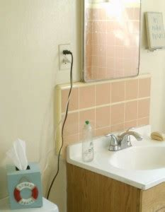 bathroom organization  good plate