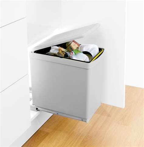 Bins For Kitchen Cupboards by Waste Bin With Automatic Lid The Contract Bin Is A Floor