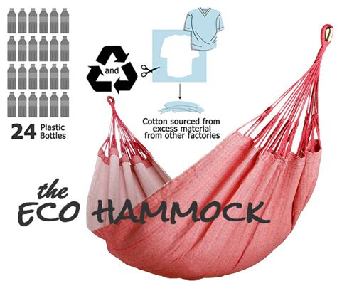 Eco Hammock by The Eco Hammock Made From Recycled Materials