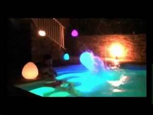 Fernbedienung Für Lampen : wiederaufladbar und mit fernbedienung floating lampen f r swimming pools youtube ~ Orissabook.com Haus und Dekorationen