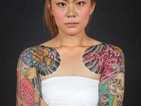 irezumi ou le tatouage japonais traditionnel tatouage