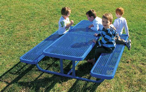 heavy duty rectangular steel preschool table belson 447 | 158PS V6 001 M