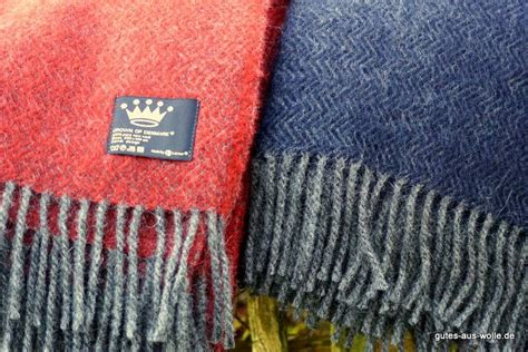 Wolldecke Aus Gotlandwolle Premium Ziegelrot