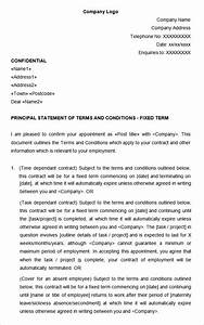 21 hr contract templates hr templates free premium for Terms of employment contract template