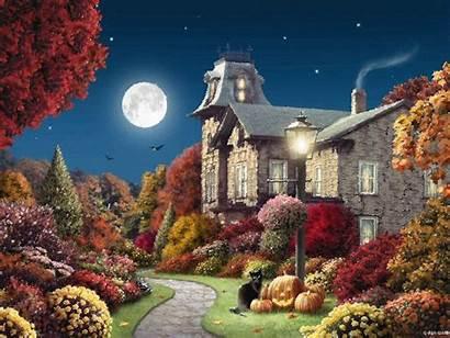 Giana Alan Halloween Night Artist Autumn Glitter