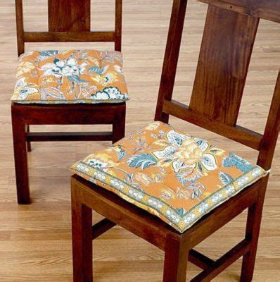 17 Best images about Dining Chair Cushions With Ties on