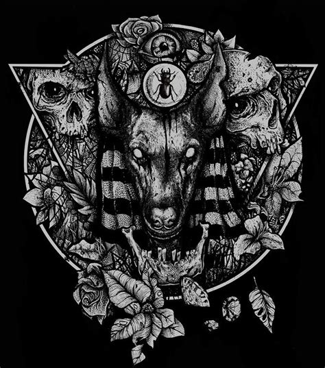 Dark Nature Inspired Illustrations Vitor Willemann