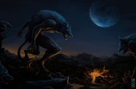 Werewolf Attack (new Version 2014) By Laurabevon On Deviantart