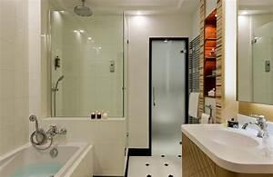 les mini cloisons ou murets pour mieux amenager la salle With cloison pour salle de bain