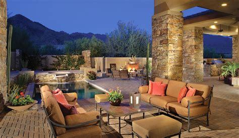 dc ranch backyard retreat southwestern patio