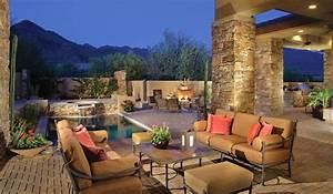 DC Ranch Backyard Retreat - Southwestern - Patio - Phoenix